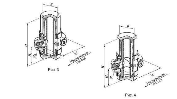 Фильтр газовый ФН 2 1/2-2