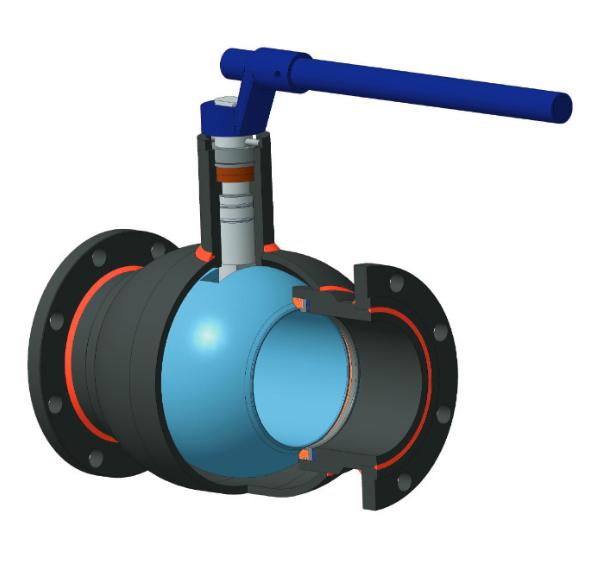 Кран шаровой КШ 120-З-102