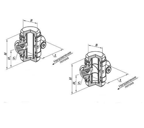 Газовый Фильтр ФН 1/2-6.2