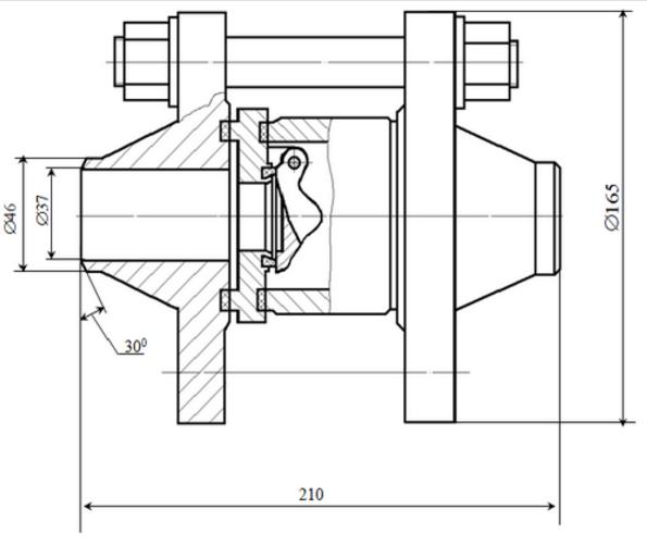Клапан обратный 19с25п