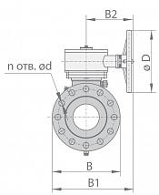 Кран шаровой 11с45п1