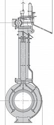 Кран шаровой 11лс(6)768п12