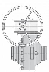 Кран шаровой МА39025-07