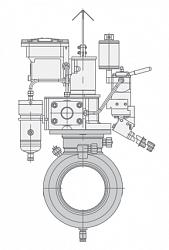 Кран шаровой МА39025-01
