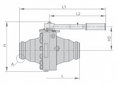 Кран шаровой МА 39033-04