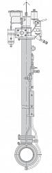 Кран шаровой 11лс(6)760п11