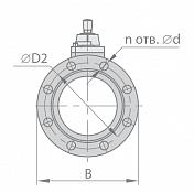 Кран шаровой МА 39010-24