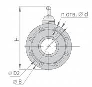 Кран шаровой МА 39010-13