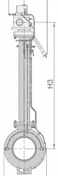Кран шаровой 11лс(6)768п20